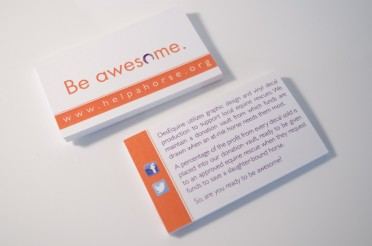 DesEquine Business Cards