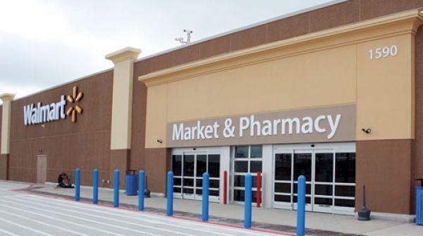 Walmart Store Entrance Photo